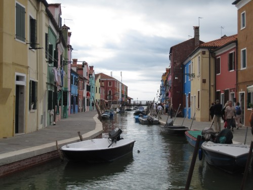 SuitcaseJournal: Houses of Burano, Venice, Italy