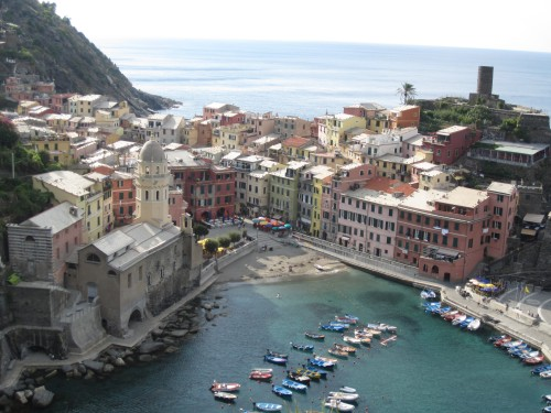 SuitcaseJournal: Vernazza, Cinque Terre, Italy