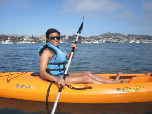 SuitcaseJournal: Kayaking in Morro Bay, California