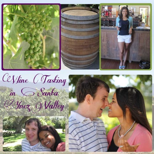 SuitcaseJournal: Solvang, Santa Ynez Valley Wine Tasting Digital Scrapbook Layout Idea by Kristin