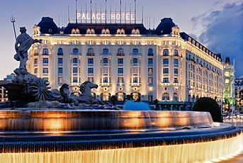 The Westin Palace hotel, Madrid, Spain