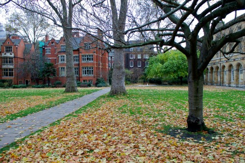 College Garden, Westminster Abbey, London