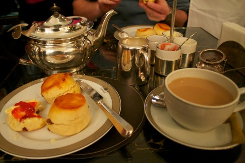 Cream Tea, The Wolseley, London