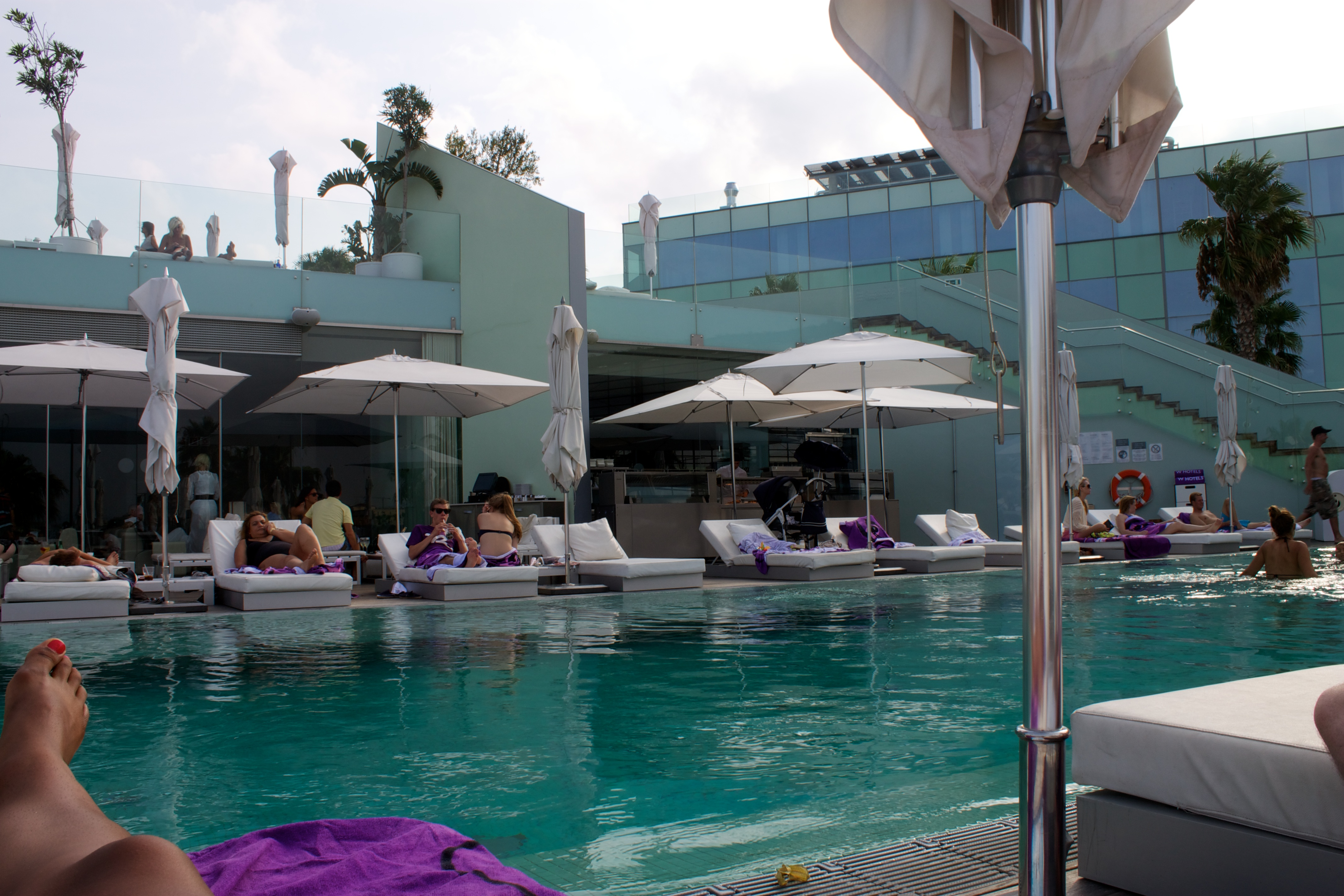 W Hotel Barcelona Spain Suitcasejournal