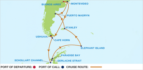 Antarctic Cruise, Celebrity Cruises