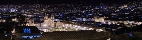 Plaza de Armas, Cusco at Night
