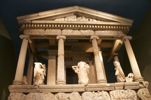 Nereid Monument, British Museum, London, England, UK, Europe