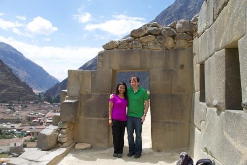 Fortress, Ollantaytambo, Peru