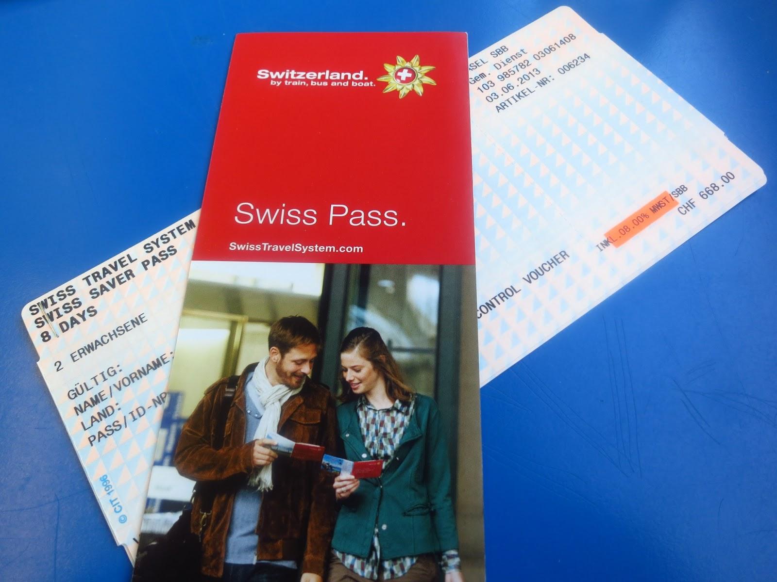 Swiss Train Travel Cost