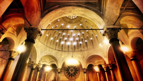 Turkish Bath - ceiling